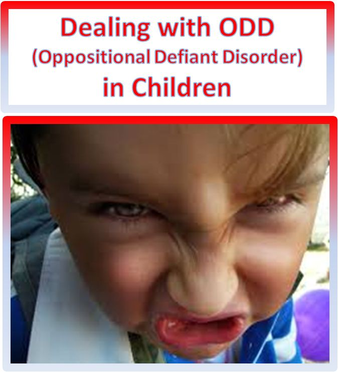 ODD Explained This Concise Description Of Oppositional Defiance Disorder In Children Can Help You Identify