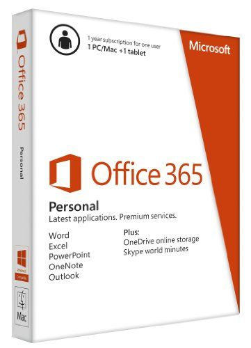 Office 365 Personal 1yr Subscription Key Card - http://www.specialdaysgift.com/office-365-personal-1yr-subscription-key-card/