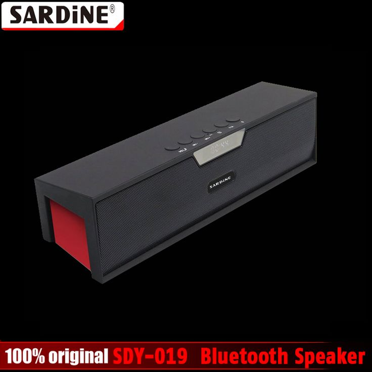 ==> [Free Shipping] Buy Best 100% Original Sardine SDY-019 Altavoz Bluetooth Speaker Wireless HIFI Portable Subwoofer Speakers Music Sound Box with FM Radio Online with LOWEST Price | 32673151430