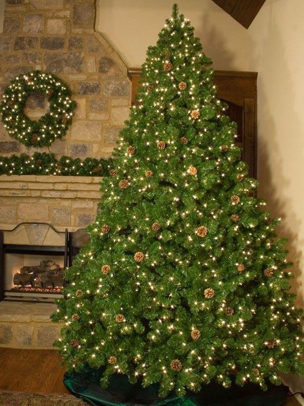 Pre Lit Dunhill Fir Artificial Christmas Tree