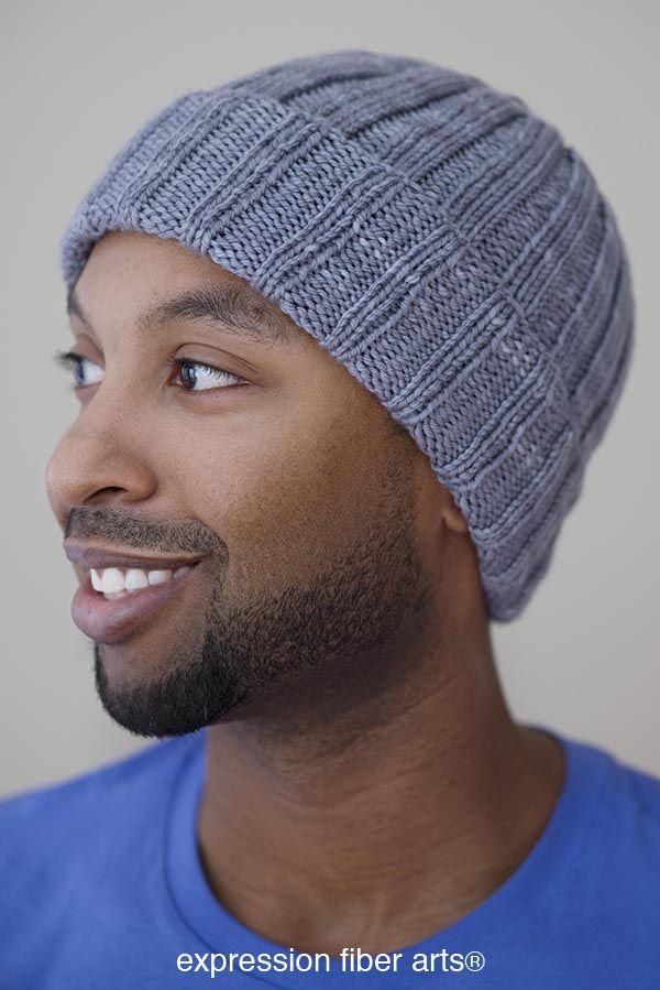 Boyfriend Beanie - Padrão de chapéu de malha grátis