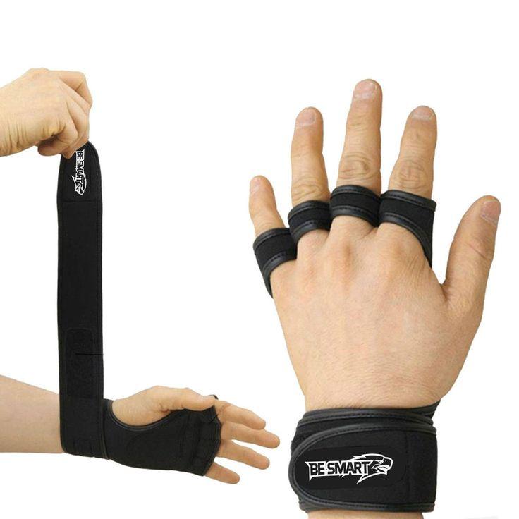 Fitness Gym Weightlifting gloves Neoprene Wrist Support Wraps Straps Gel Gloves