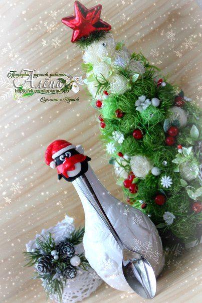 Ложечки Новогодние пингвинята 🌲🎁🐧  / Западло