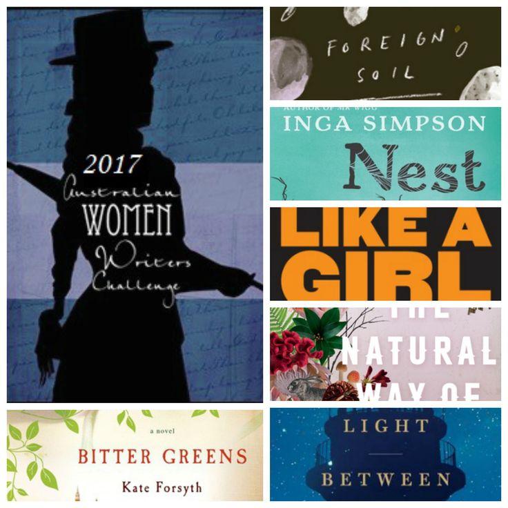 10 books by Australian women writers I plan to read in 2017 #AWWC17 #fiction #womensfiction #speculativefiction #feminism #booksbywomen #australianfiction #speculativefiction #historicalfiction