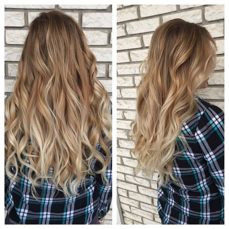 Warm Blonde Balayage Ombre