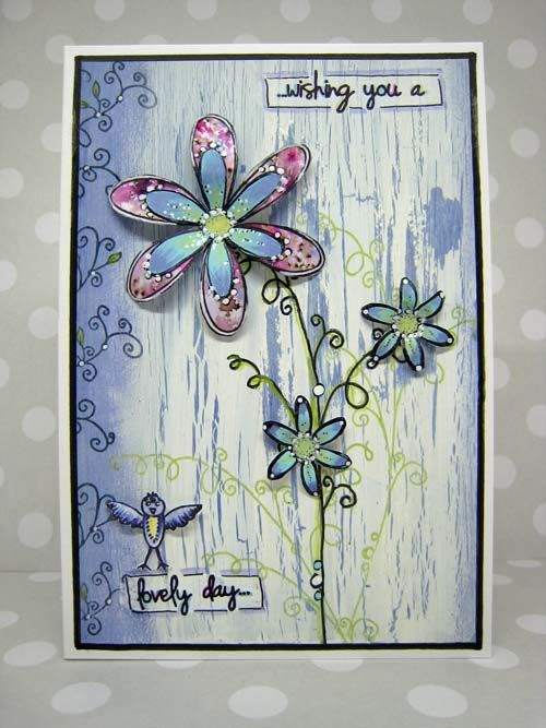 Innovative creativity from PaperArtsy. Paint, stencils, and techniques galore for any mixed media enthusiast to enjoy.