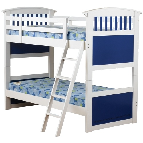 White bunkbeds for my boys, when the little one is a little bit older: Kids Beds, Beds Bunk, Blue Bunk, Kids Sweet, Ruby Blue, Single Bunk Bed, Sweet Dreams, Dreams Ruby, Kids Bunk Beds