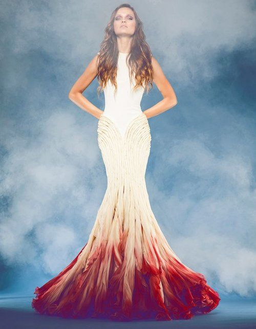 Red Feather Wedding Dresses – fashion dresses