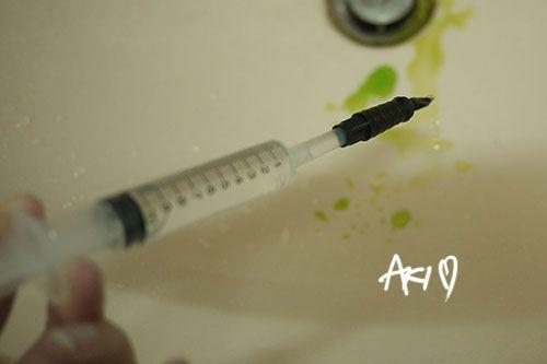鋼筆|洗鋼筆的方法