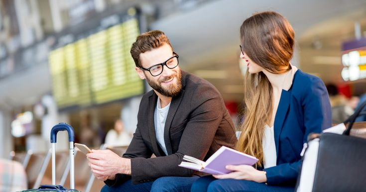The Top Airports For Meeting Singles Over The Holidays, Because Love Is Literally In The Air - Bustle