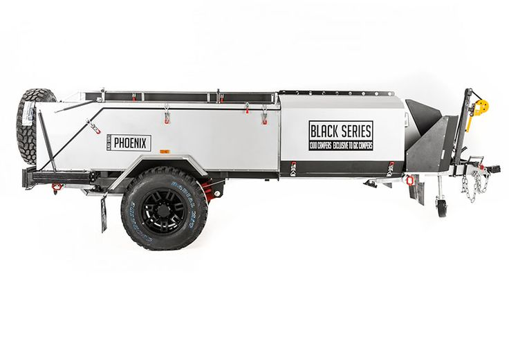 Innovative New GIC CAMPERS BLACK SERIES PHOENIX Camper Trailers For Sale