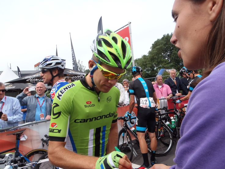 Guillaume Boivin, Cannondale's Canadian cannonball, the morning of stage 1, Eneco Tour 2013