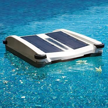 The Solar Breeze Pool Skimmer has the sun do all your pool cleaning work for you; simply turn on and place the skimmer in your pool and the sun will have your pool clean in no time! Keep Your iPad dry at the Pool - try a suction-mount, waterproof Splashtablet iPad Case.  Free Shipping! Under $40. On Amazon. Great Reviews