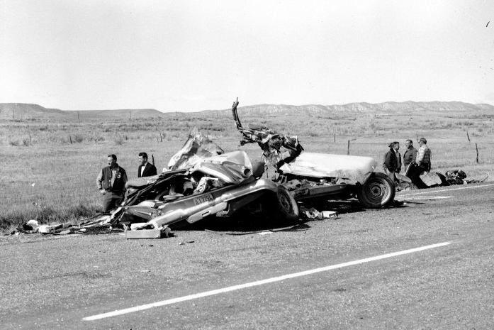 Car Wreck Leaving Dealership