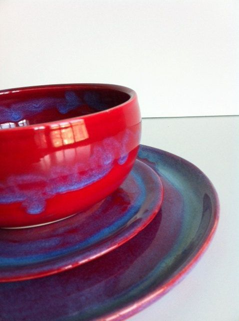Best 25 Red dinnerware ideas on Pinterest Brown in french