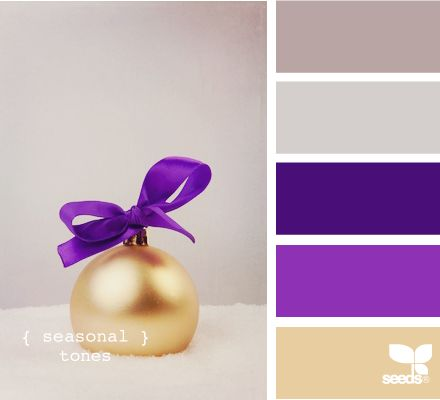 58 best interior purple and gold inspiration images on pinterest for the home homes and - Purple and silver color scheme ...