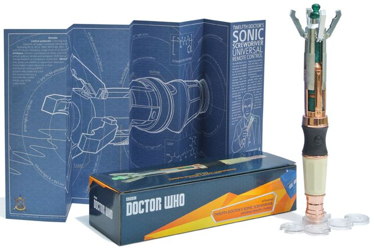 Want! Extendable version... Wand Company 12th Doctor Remote Full Details