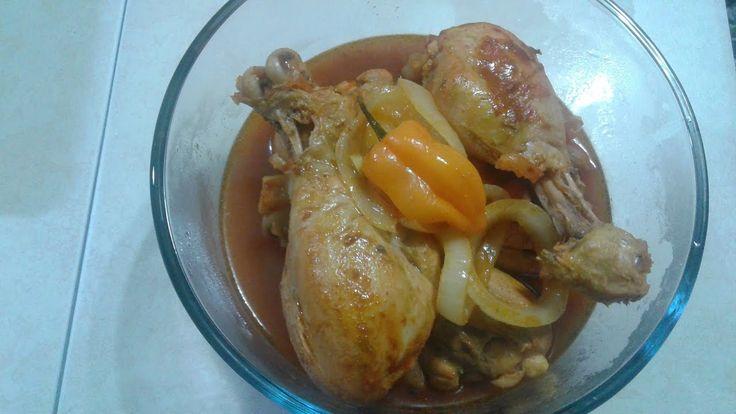 Caribbean Stew Chicken (Haitian style)