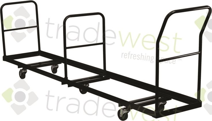 Folding Chair Cart - for metal/steel folding chairs
