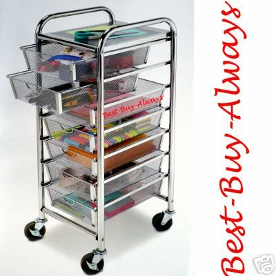 Wood rolling cart with drawers woodworking projects plans for Rolling craft cart with drawers