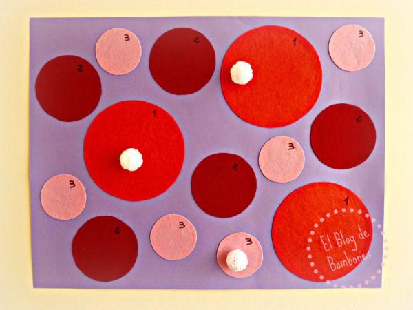 Diana de velcro #DIY Velcro dartboard   Craft Ideas ...