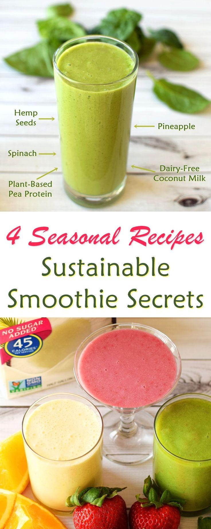 Auswahl der besten Zutaten für nachhaltige Smoothies – welche Milch, Ei …   – Go Dairy Free!
