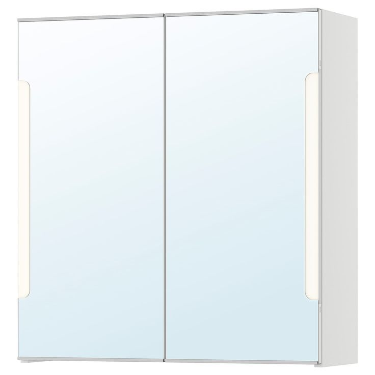 Storjorm Spiegelschrank M 2 Turen Int Bel Weiss Ikea Osterreich Spiegelschrank Gluhlampe Glasboden