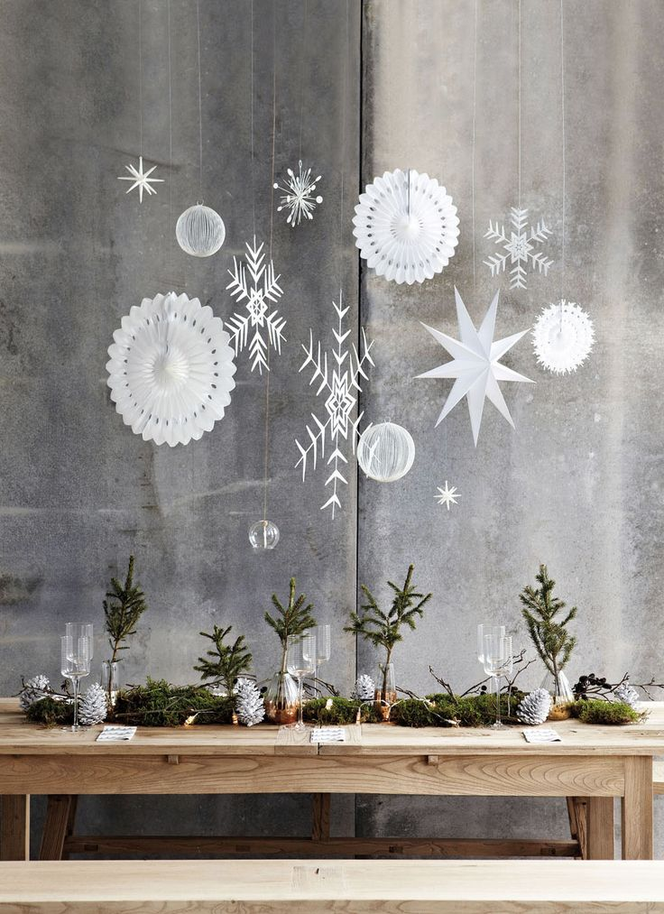 Christmas decoration ideas and inspiration.