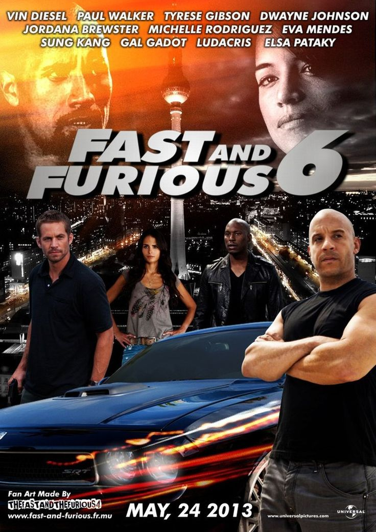 Fast and Furious 6 < can't hardly wait for