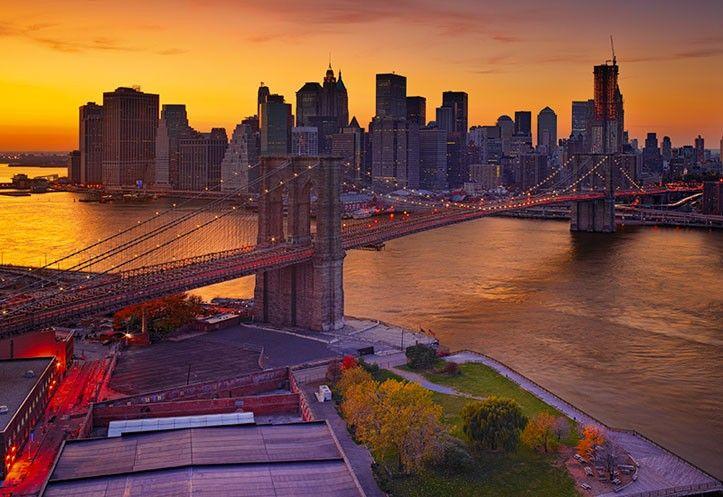 Dusk Over Manhattan 30 by Peter Lik