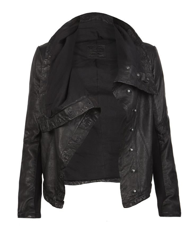 kaito leather jacker: Black Leather Jackets, Fashion, Kaito Leather, Biker Jackets, Style, Clothes, Leather Jacket Love, Coats Jackets Fabulous, Leather Like Jacket