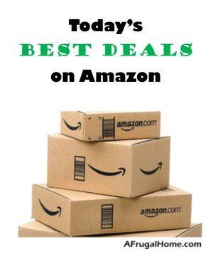 Today's Best Amazon Deals | AFrugalHome.com