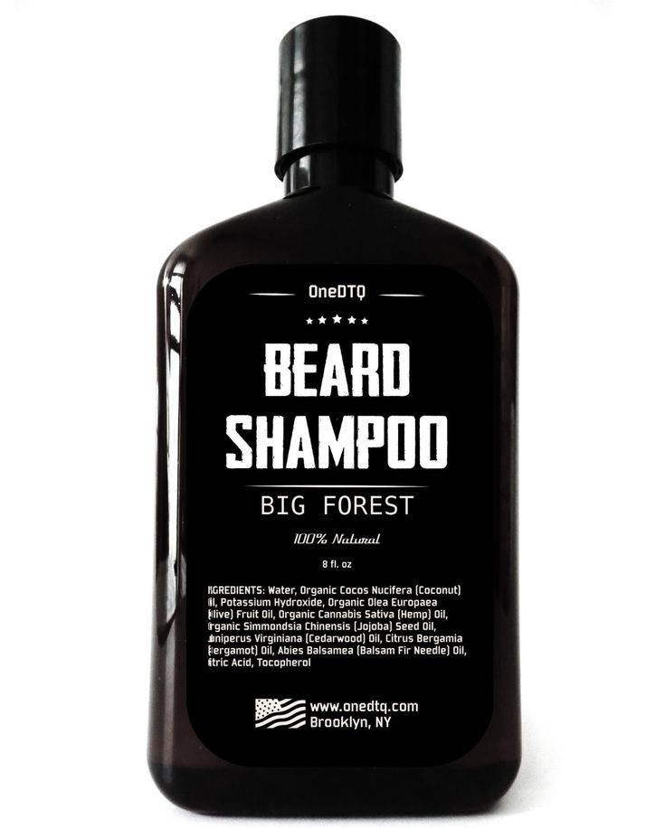 Beard Shampoo - 100% Natural Beard Care. Thoroughly Cleans and Deeply Conditions Your Beard. Promotes Beard Growth & Stops Beard Itch. by OneDTQ on Etsy https://www.etsy.com/listing/232622893/beard-shampoo-100-natural-beard-care