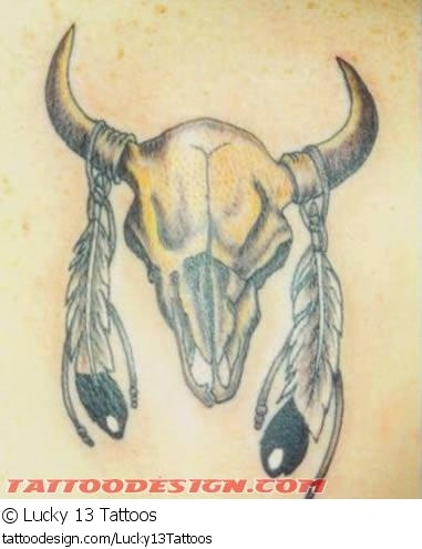 Indian Feather Tattoos   See thousands of FREE tattoo pictures like this american indian tattoo ...