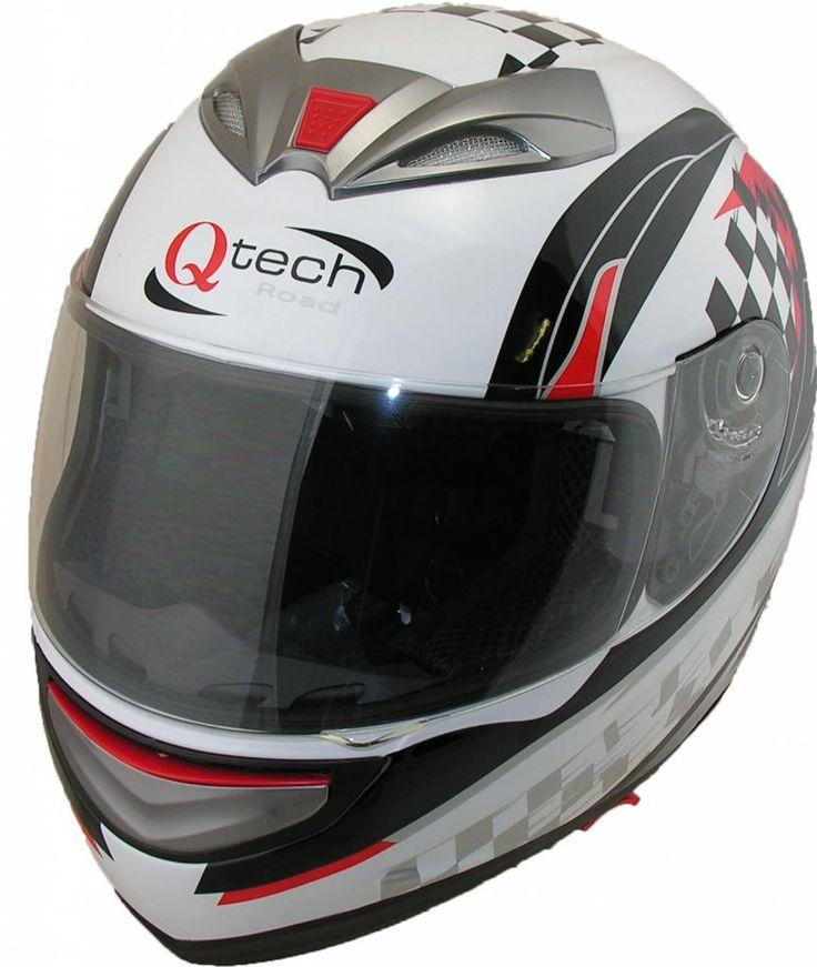 Full Face Motorcycle Helmet by Qtech  £32.95  01270 841877