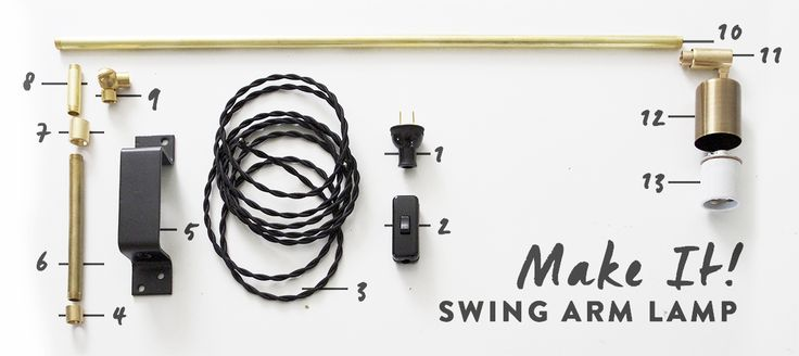 Make It : Swing Arm Lamp | Deuce Cities Henhouse | Bloglovin'