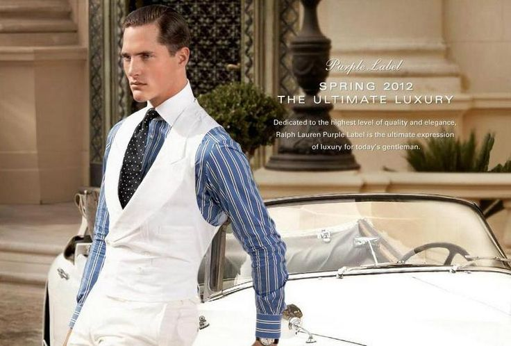 Ralph Lauren Purple Label Spring Summer 2012 by Sheila Metzner