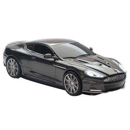 Click Car Aston Martin DBS Car Wireless Computer Mouse - Silver