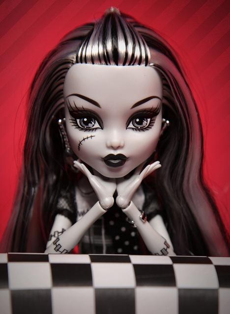 Monster High Doll - Frankie Stein     For all the little punks who like dolls that aren't barbies ;)