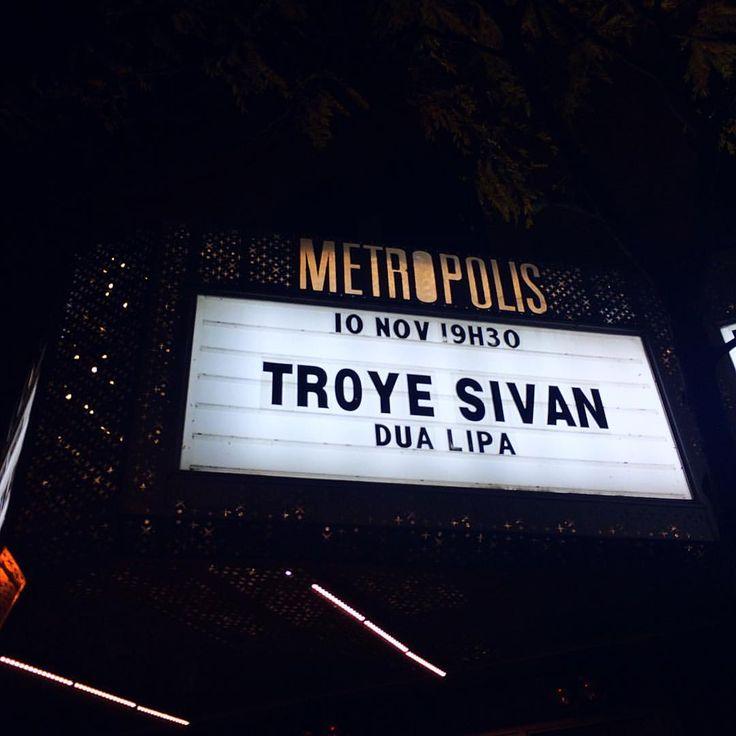 See this Instagram photo by @dieplisa • 23 likes montreal troye sivan dua lipa metropolis concert night