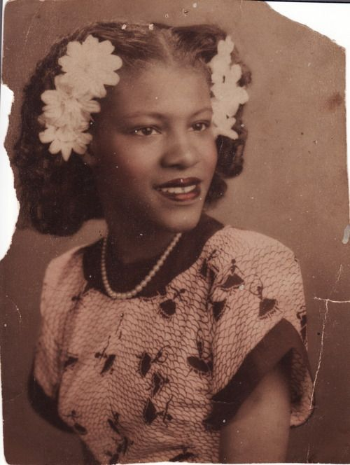 here she is as a teenager in the late 1940s she is