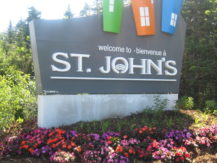 Welcome to St. John's