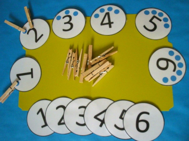 Clothespin Counting
