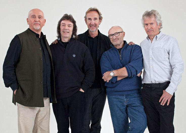 """The famous 1971-75 lineup of of the band Genesis has been working in conjunction with the BBC to produce their first-ever documentary, """"Genesis: Together and Apart""""."""