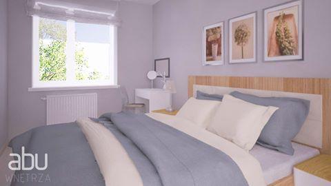 Bedroom, scandinavian style