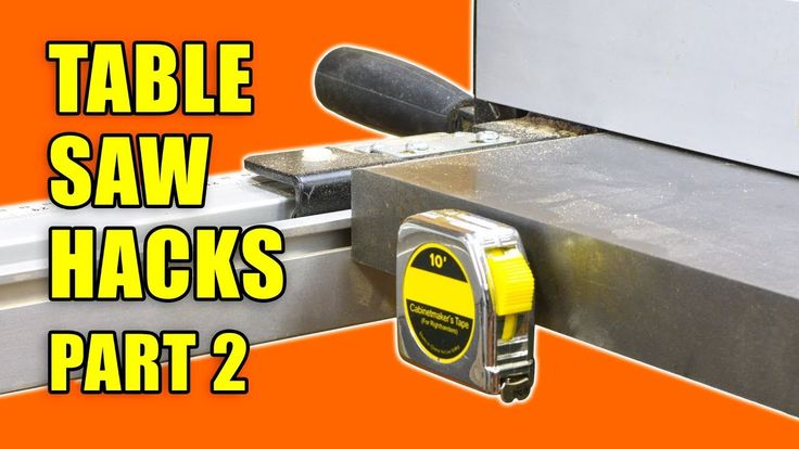 5 Table Saw Tricks and Tips