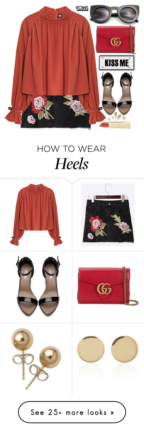 """""""Summer Romance... Yoins"""" by pastelneon on Polyvore featuring Gucci, Bling Jewelry, Magdalena Frackowiak, yoins, yoinscollection and loveyoins"""