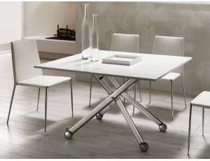 Pi di 25 fantastiche idee su tavolo pieghevole su for Consolle allungabile laccata bianca