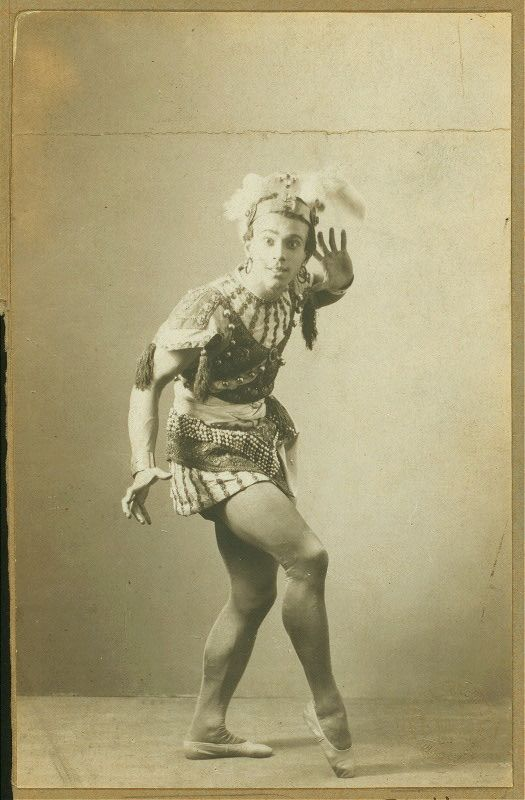 Vaslav Nijinsky, Le roi Candaule (1908).