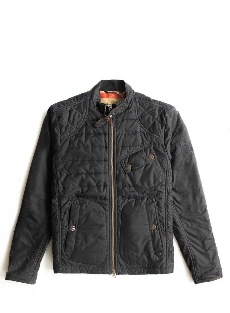 Brands : Куртка Barbour (черный)